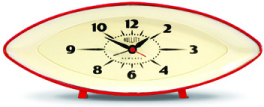 Newgate Bullitt Retro Alarm Clock
