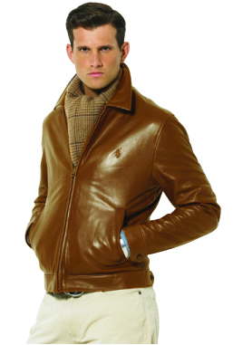 Leather Jacket by Polo Ralph Lauren
