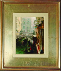 """""""Winter in Venice"""" Giclee on Canvas by Dimitri"""