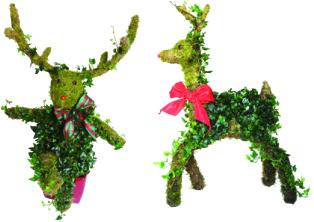 Reindeer Topiaries