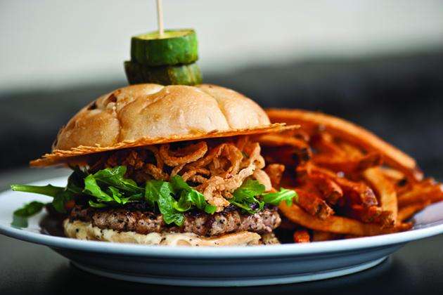 Broderick Duck Burger