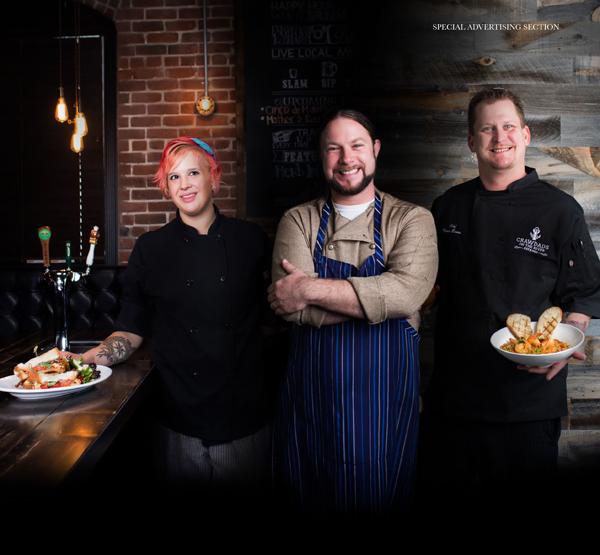 Lauren McKay, Chef Adam Pecal, Kevin Bowes