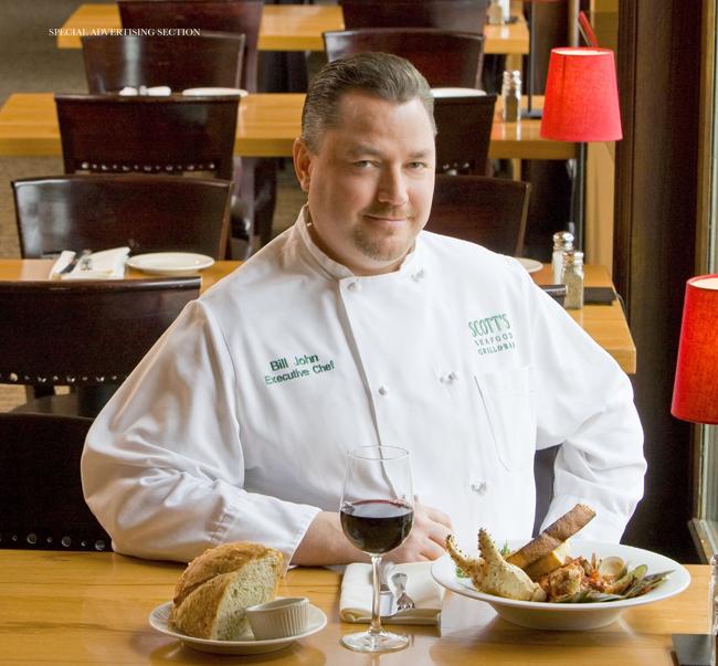 Scott's Seafood, Chef Bill John