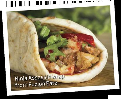 Ninja Assassins Wrap