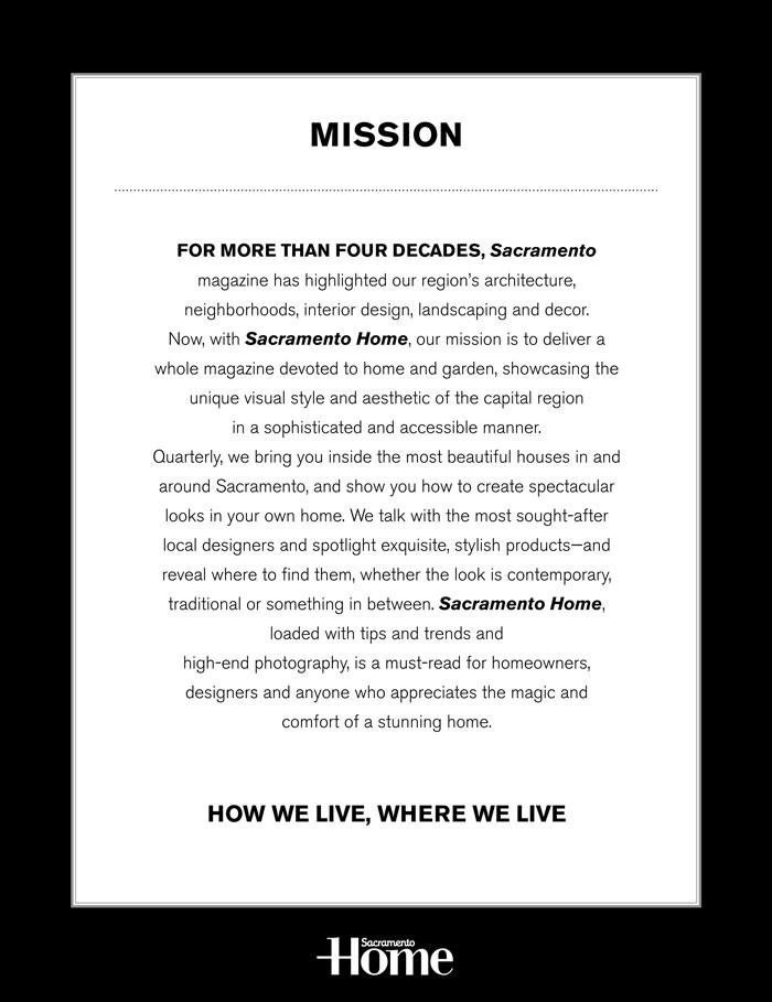 sacramento media kit mission