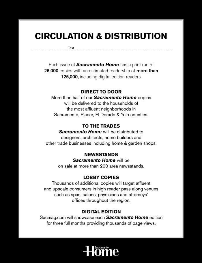 sacramento home media kit circulation distribution