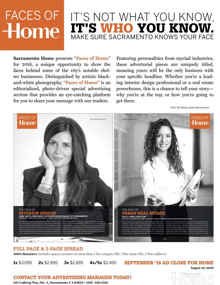 sacramento home media kit faces