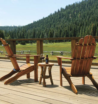 highlands ranch resort view