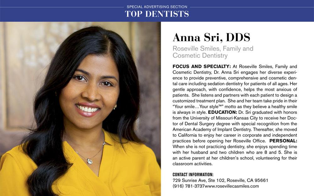 Anna Sri, DDS