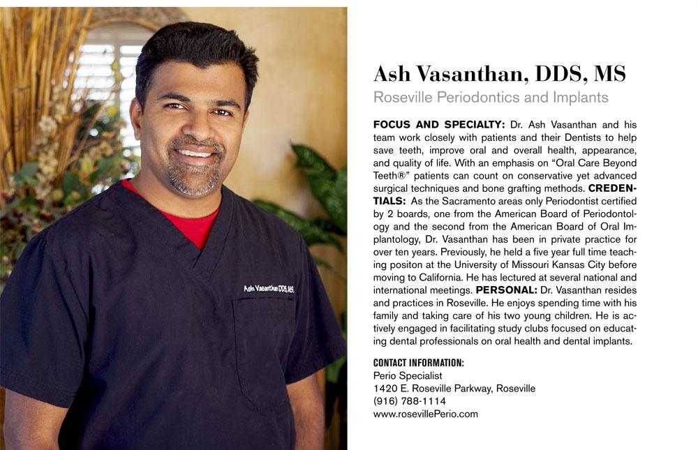 Ash Vasanthan, DDS, MS