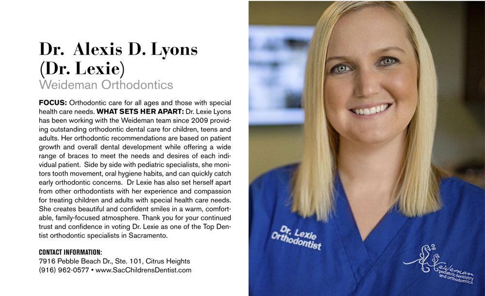 Dr. Alexis D. Lyons