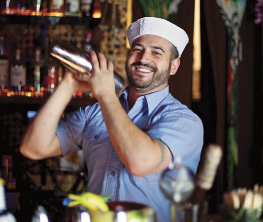 Bartender Michael Mazzei