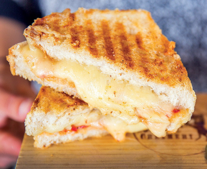Grilled Cheese from Cowgirl Creamery