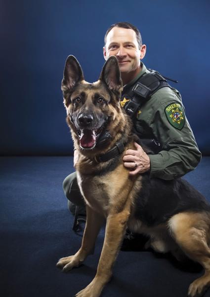 Deputy Jeff Tucker and Carly