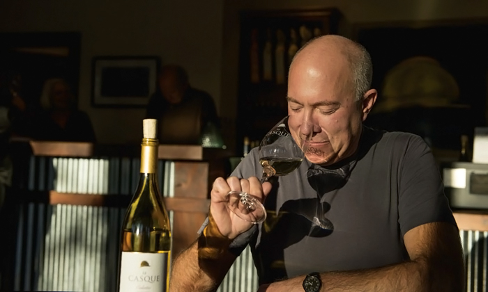 Kevin Stevenson of Casque Wines
