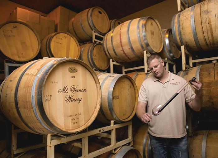 Ryan Taylor of Mt. Vernon Winery