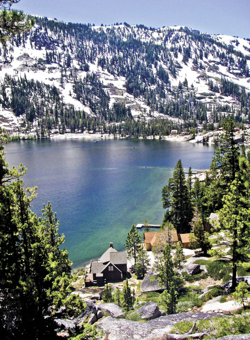 Cabins at Lower Echo Lake
