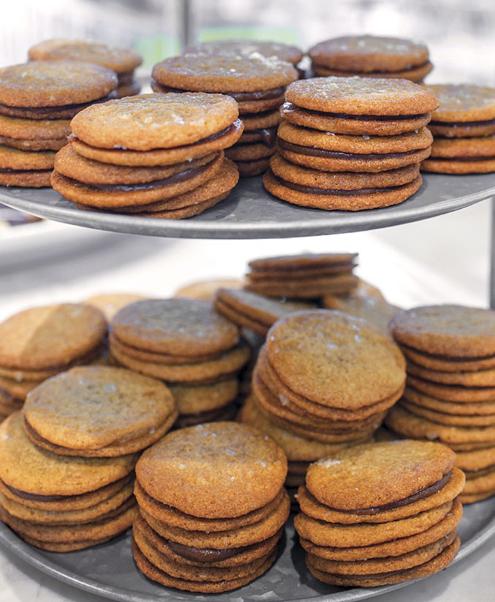 Salted Carmel Cookies