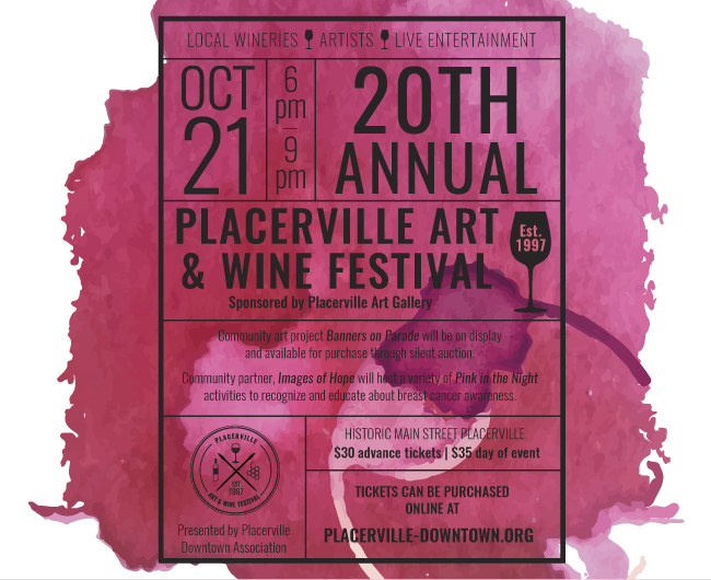 20th Placerville Art and Wine Festival