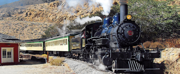 V&T Railroad's Comstock Train Tour