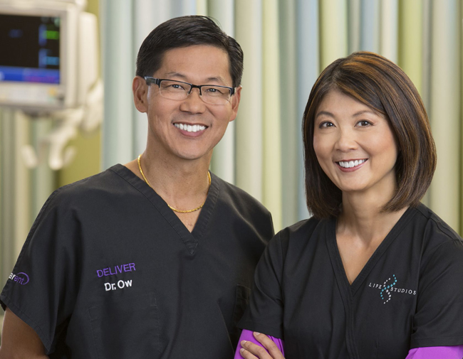 Randall A. Ow, M.D. and Jacqueline Ho, M.D.