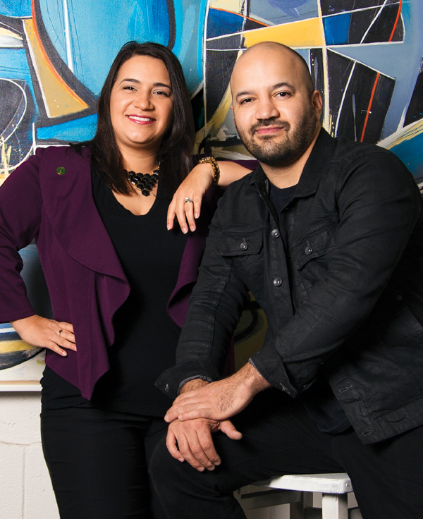 Veronica and Raphael Delgado