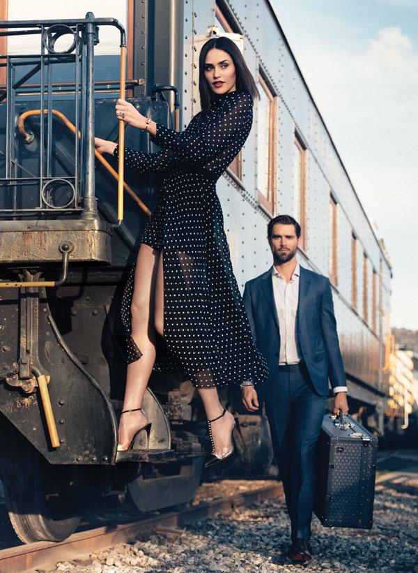 Dior Jumpsuit and Ermenegildo Zegna Suit