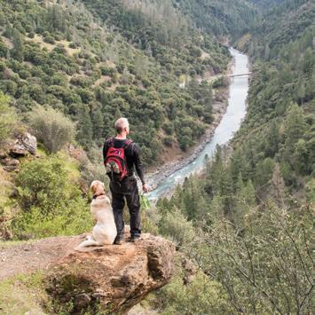 Stevens Trail Hiker