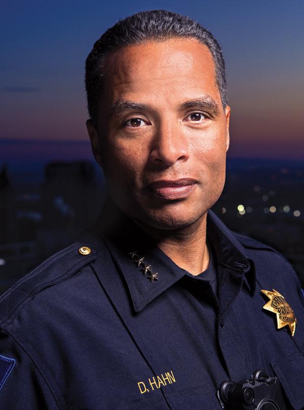 Police Chief Daniel Hahn