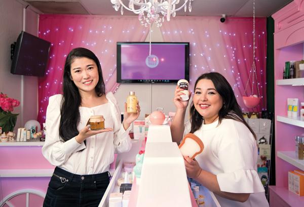 Mimi Zhou and Sahaira Murillo