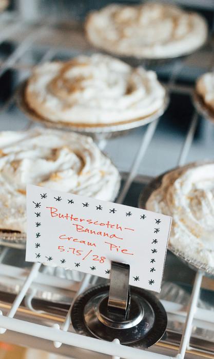 Butterscotch Banana Cream Pie