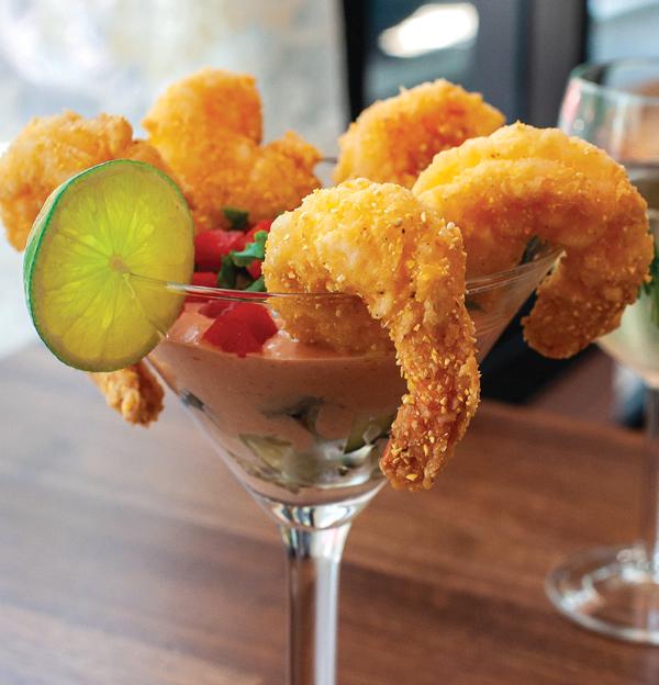 Fried Shrimp Cocktail