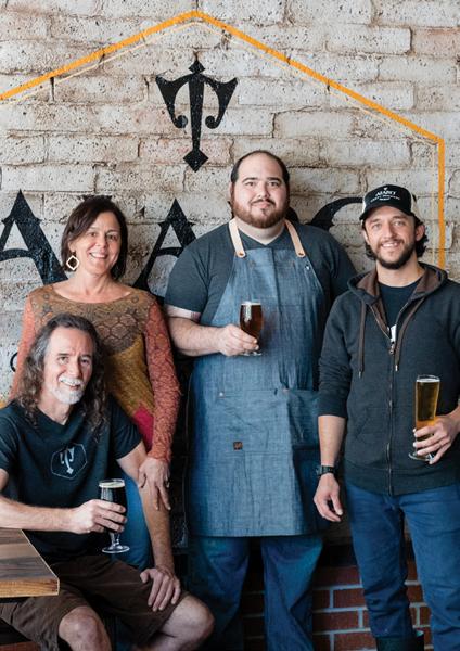 Alaro Brewing team
