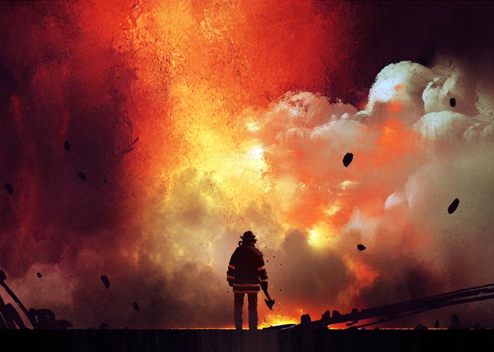 Firefighter Slider
