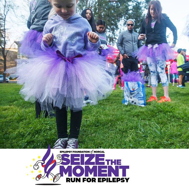 seize the moment epilepsy run