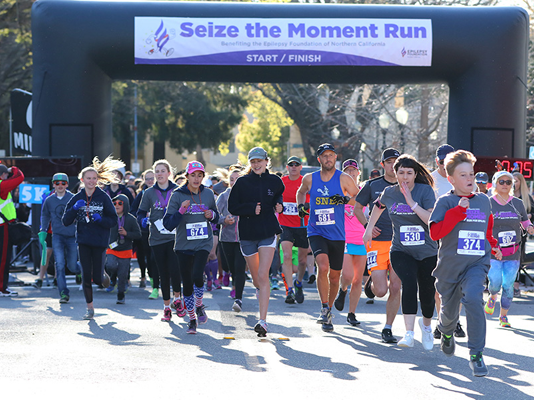 seize the moment run