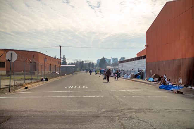 homeless population