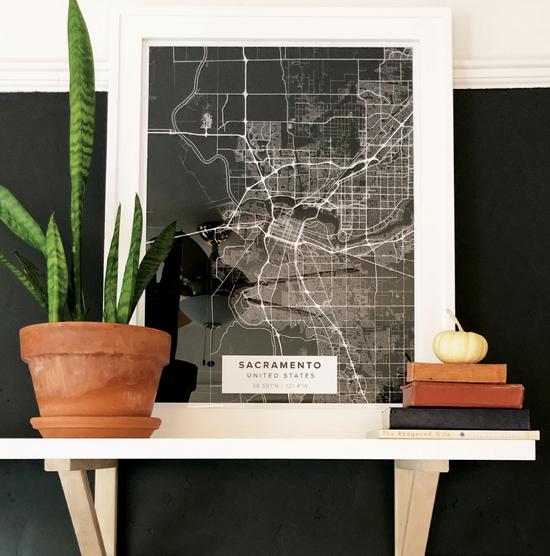 Sacramento Map