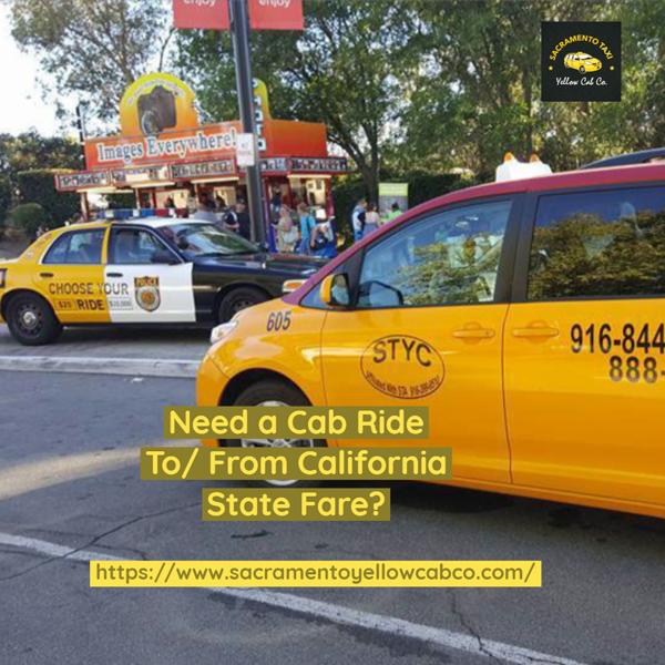 Sacramento Taxi Yellow Cab - Sacramento Magazine