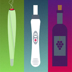 wine cannabis and pregnancy