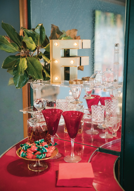 glassware bar