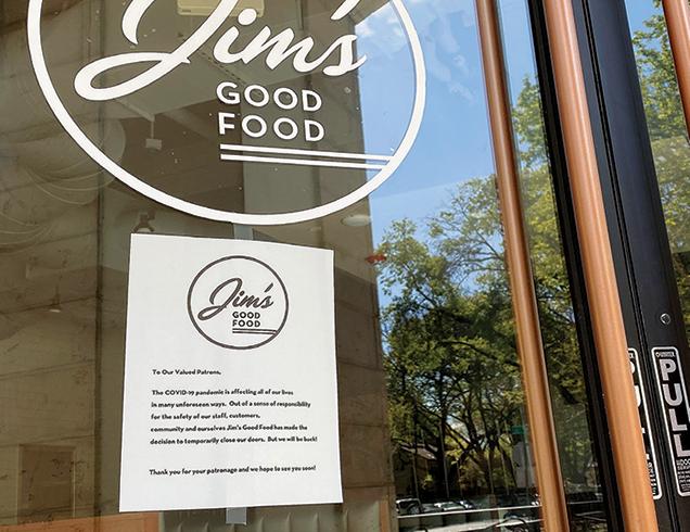 restaurant closure
