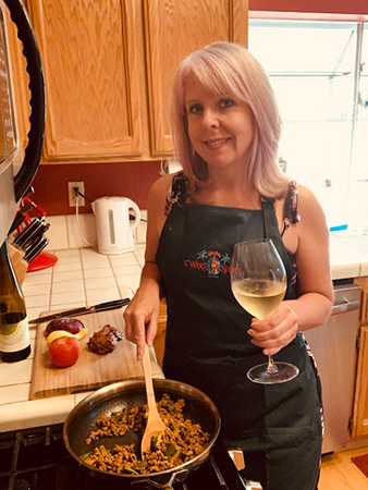 wine with dinner