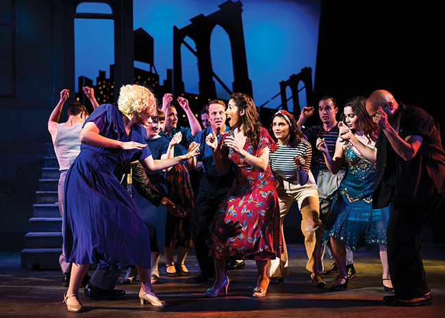 """Davis Shakespeare Festival's Boxed Up Productions' """"Wonderful Town"""""""