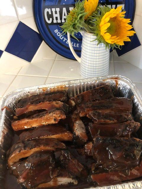 crisp catering ribs
