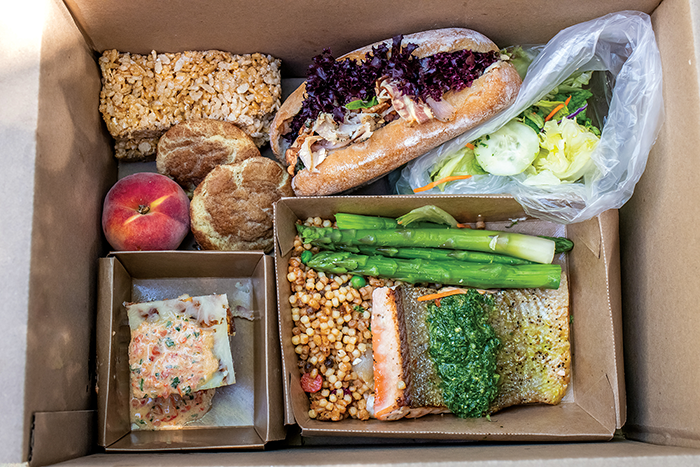 meal box from mulvaney's