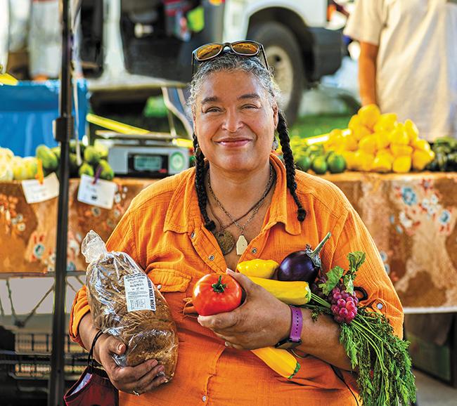 Joany Titherington farmers market