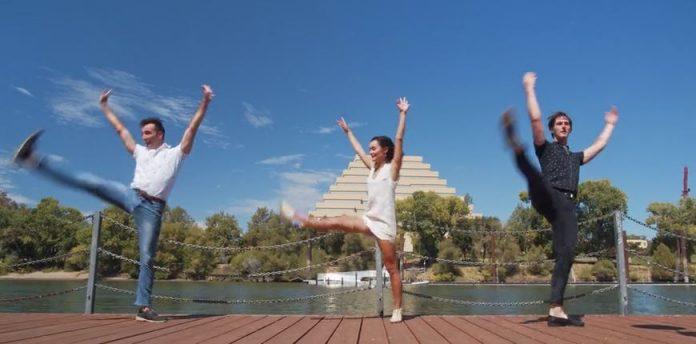 dancing with landmarks