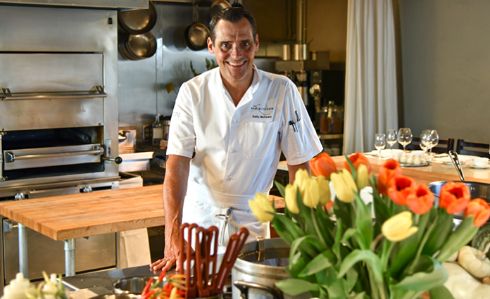 the kitchen executive chef kelly mccown