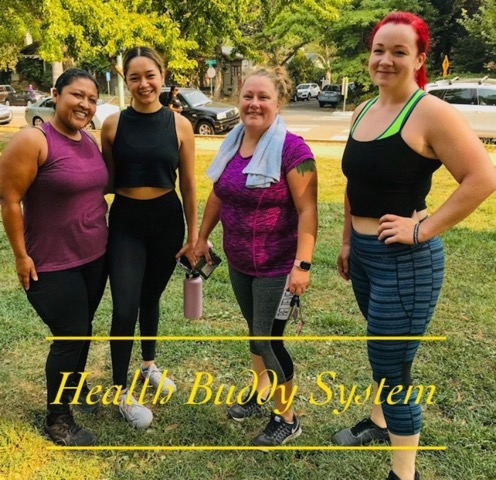 workout health buddy system